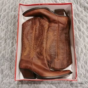 Guess | Brown Sandelion Cowboy Boots